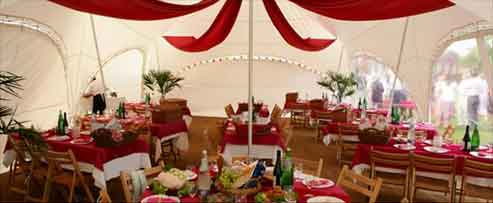 Wedding marquees hire surrey sussex the perfect venue for your marriage and reception party junglespirit Gallery
