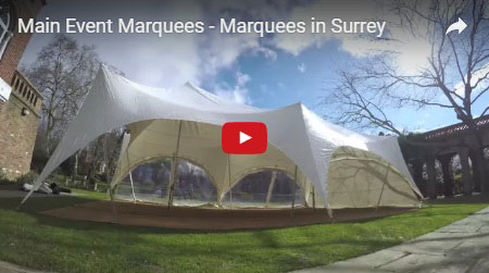 marquee hire surrey main event marquees